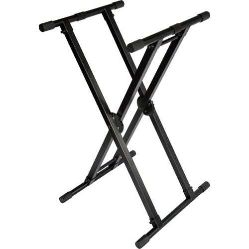 ProX X-KSD22 Double X-STYLE Stand for DJ Coffins and Keyboards