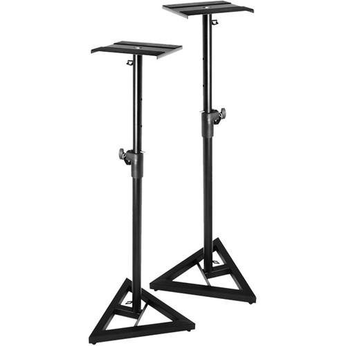 ProX Monitor Speaker Platform Stands (Pair)