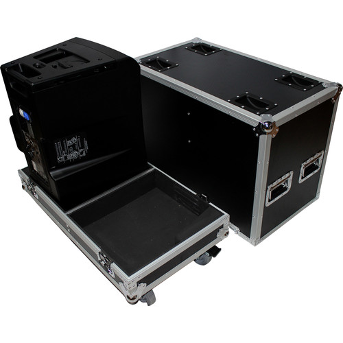 ProX X-QSC-KLA12 Flight Case for Two QSC KLA12 Speakers