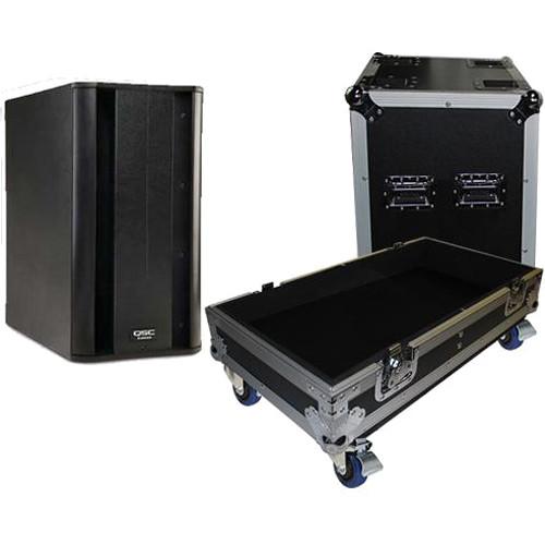 ProX ATA Flight Case for QSC-KSub Speaker (Black)