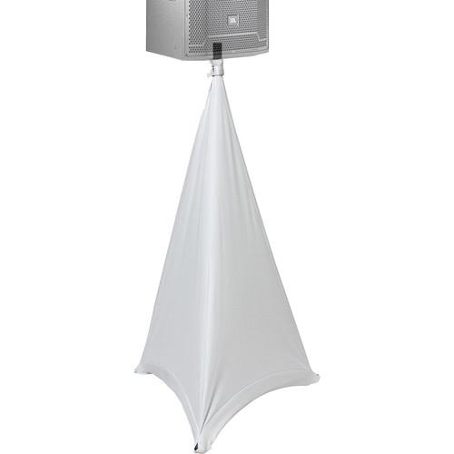 ProX X-SP2SC-W Tripod Speaker & Lighting Stand Cover Scrim (2-Sided, White)