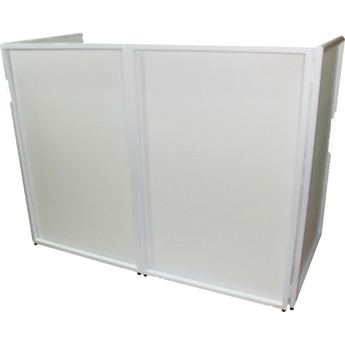 ProX DJ Facade - Aluminum 4-Panel Scrim Package with Bag and Black/White Scrims (White)