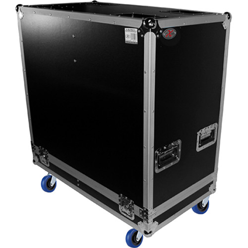 """ProX ATA Flight Case for Two 12"""" Speakers (Black)"""