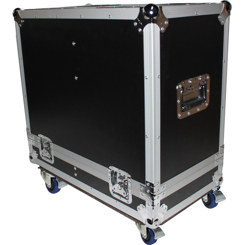 "ProX Universal ATA Flight Case for Two 15"" Speakers"