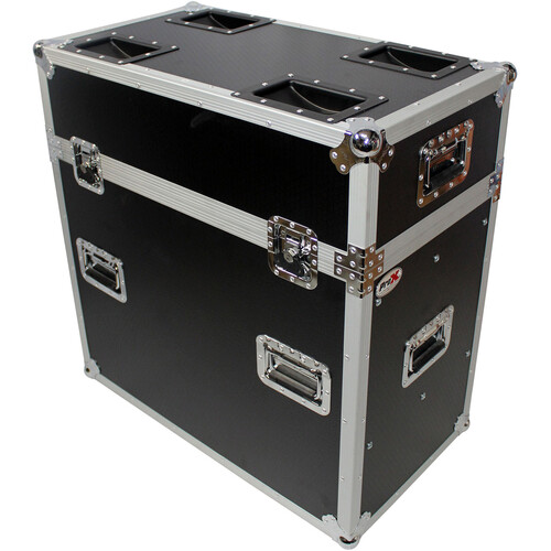 """ProX Flight Case for 30x30"""" Trussing Base Plates"""