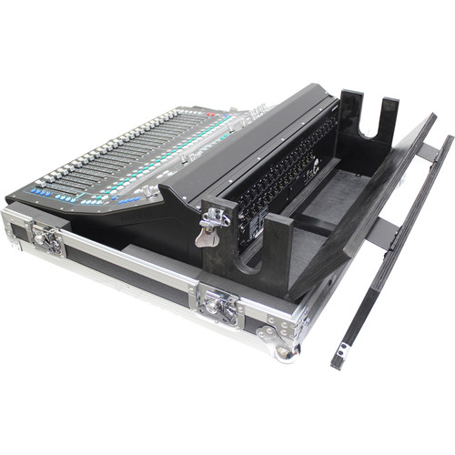 ProX Flight Case for Allen & Heath SQ5 Console with Doghouse and Wheels