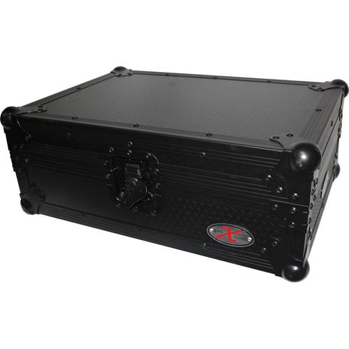 ProX Flight Case for Large Format Media/CD Players (Black on Black)