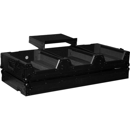 ProX DJ Coffin Flight Case for Pioneer DJ DJM-900 Mixer and Two CDJ-2000NXS2 Players (Black on Black)