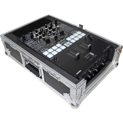 ProX XS-DJMS9 Flight Case for Pioneer DJM-S9 Mixer (Silver on Black)