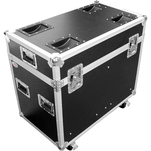 """ProX 350 Style Moving Head Lighting Case for 2 Lights (16 x 28 x 25"""")"""