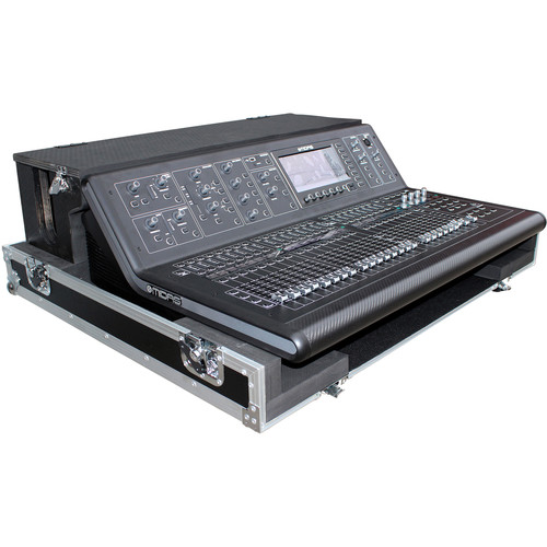 ProX Flight Case for Midas M32 Live Mixer Console with Doghouse and Wheels