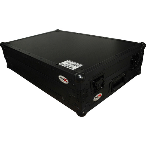 ProX Flight Case with Wheels for Numark NS7II and NS7III Digital Controller (Black)