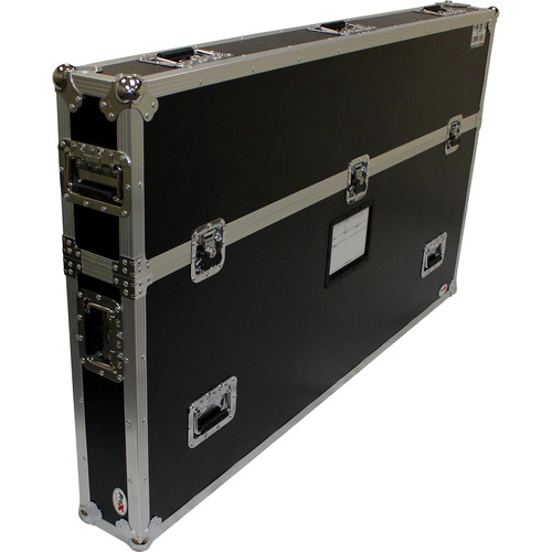 """ProX Universal Case with Low-Profile Wheels for Single 55 to 65"""" LED TV"""