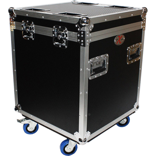 ProX XS-UTL4 Half Trunk Utility Flight Case with Casters