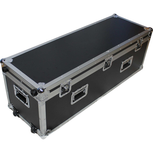 ProX Long Utility Flight Case with Wheels