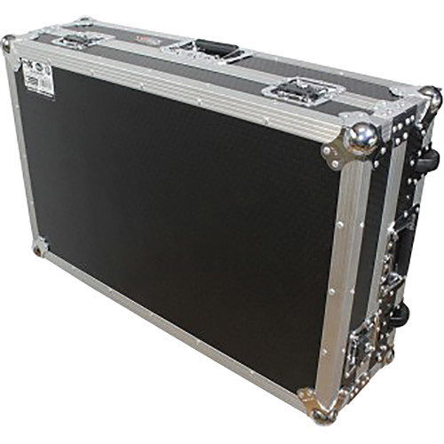 ProX Flight Case for XDJ-RX Controller (Silver on Black)