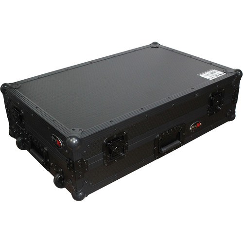 ProX Flight Case for Pioneer XDJ-RX Controller (Black on Black)