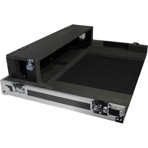 ProX Heavy-Duty XS-YMTF5DHW Flight Case for Yamaha TF5 Studio Mixer Console (Silver on Black)