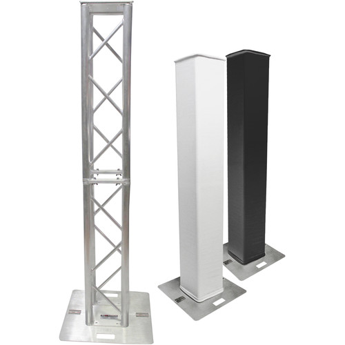 ProX Flex Tower Totem Package with Hard Road Case (3.28' or 6.56')
