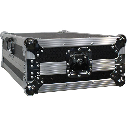 ProX Flight Case For Pioneer DDJ-SB and Numark Mixtrack Pro / Pro II Controllers with Sliding Laptop Shelf