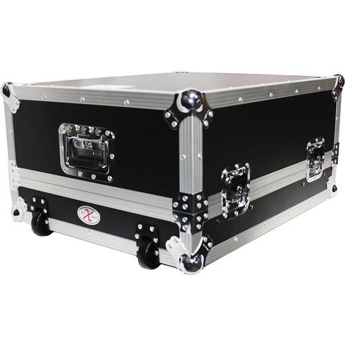 "ProX 19"" Slant Rackmount Case (14 RU, Silver on Black)"