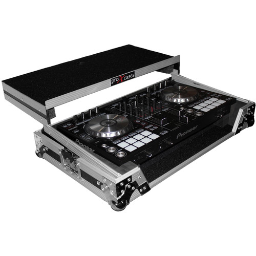 ProX Flight Case For Numark MixDeck Express Controller with Laptop Shelf