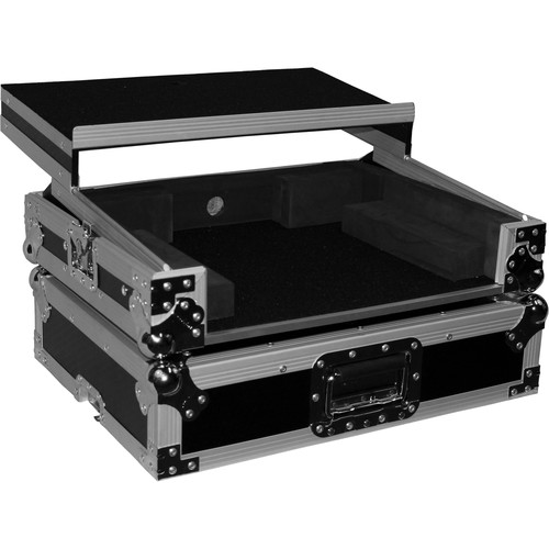ProX Flight Case For Denon MC6000 and MC6000MK2 Controllers with Laptop Shelf