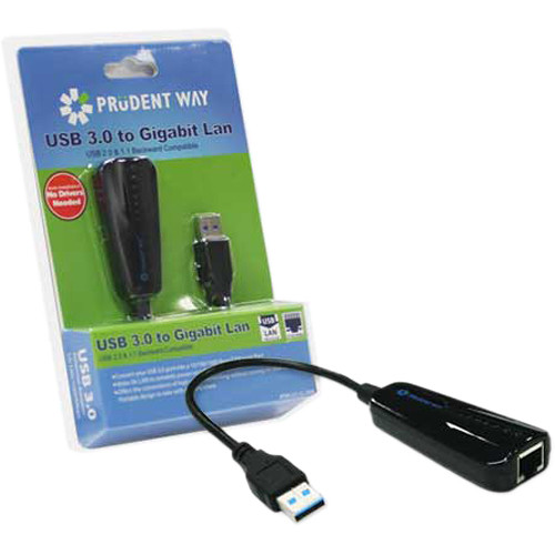 Prudent Way USB 3.0 to Gigabit LAN Adapter