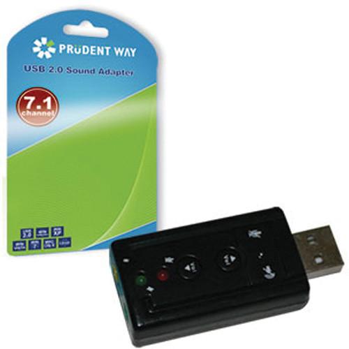 Prudent Way PWI-USB-A71 USB Virtual 7.1 Sound Adapter