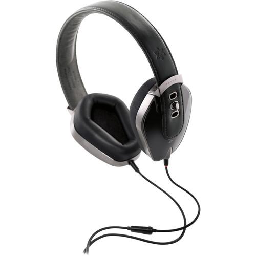 Pryma Leather & Aluminum Headphones (Pure Black)