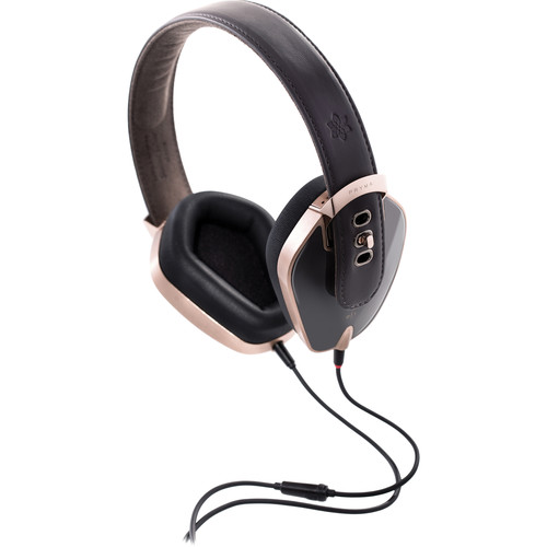 Pryma Leather & Aluminum Headphones (Rose Gold & Gray)