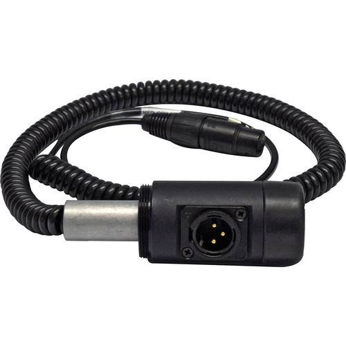 PSC Coil Cable Kit for Medium-Sized Boompole (Right Angle XLR Base)