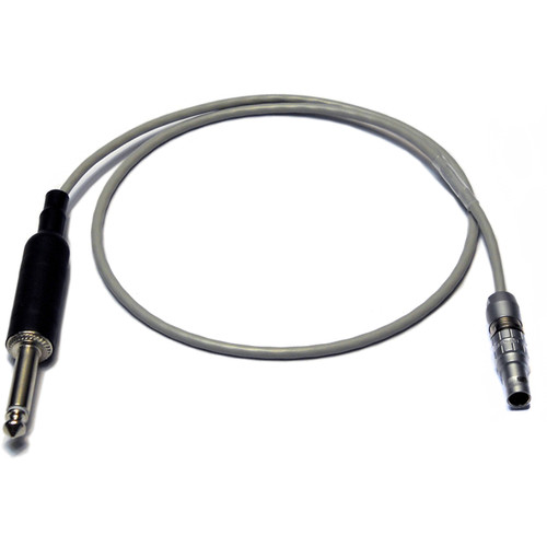 """PSC LEMO Connector to 1/4"""" Jack Timecode Cable (2')"""