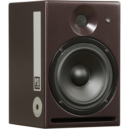 PSI AUDIO A14-M Studio - Compact, Nearfield, Powered Monitor (Single, Red)