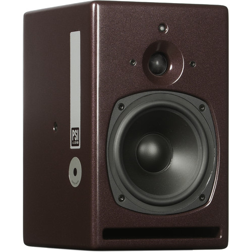 PSI AUDIO A17-M Classic, Nearfield, Powered Monitor (Single, Red)