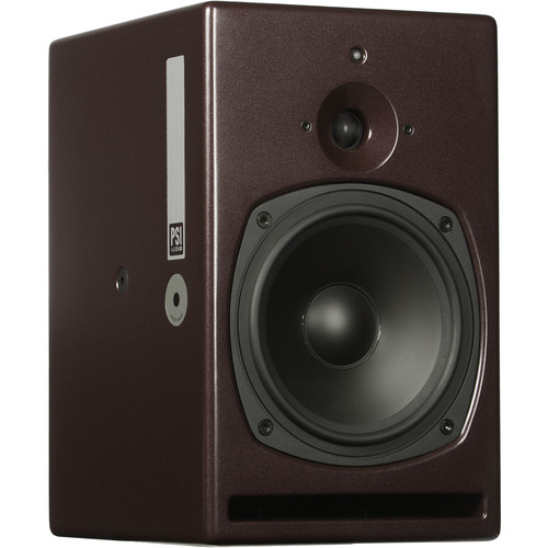 PSI AUDIO A21-M High-Powered, Near to Mid Field Studio Monitor (Single, Red)