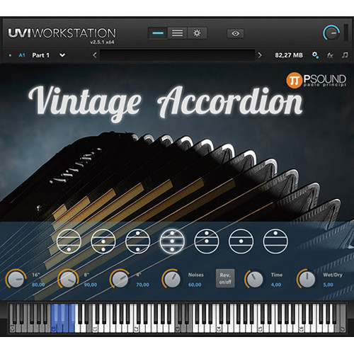 PSOUND Vintage Accordion Virtual Instrument (Electronic Download)