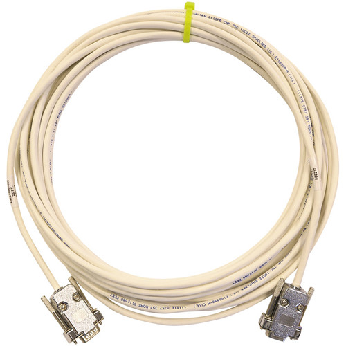 PTZOptics Serial DB9 Male to Female Plenum-Rated Extender Cable (25')