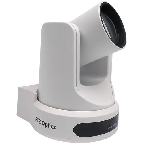 PTZOptics 12X-NDI Broadcast and Conference Camera (White)