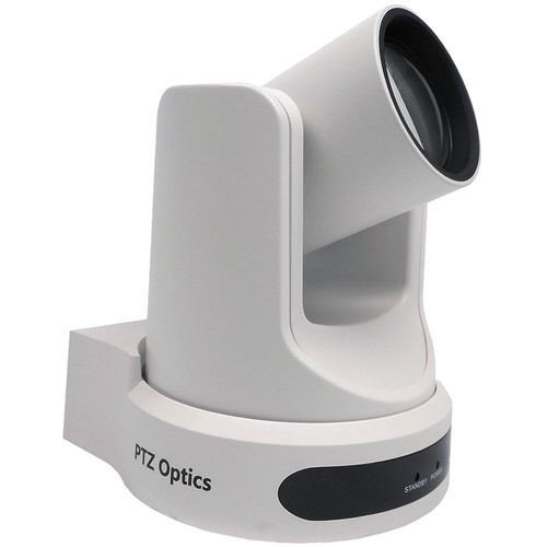 PTZOptics 12x Network Device Interface Camera (White)