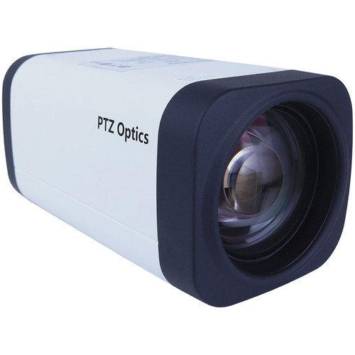 PTZOptics 12X 1080P HD-SDI Box Camera  (White w/ US Style Power Supply)