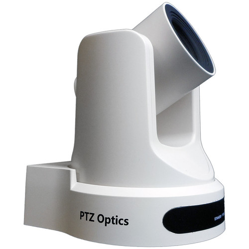 PTZOptics 20X-NDI Broadcast and Conference Camera (White)