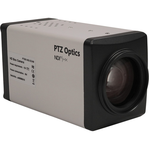 PTZOptics 20X 1080P NDIHX, Hd-SDI Box Camera