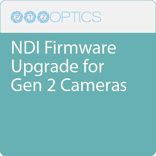 PTZOptics NDI Firmware Upgrade for Gen 2 Cameras
