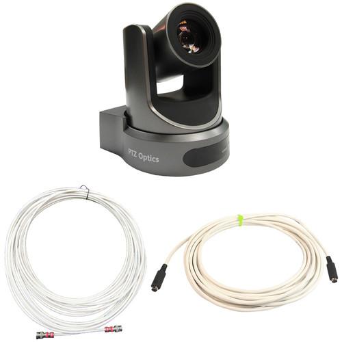 PTZOptics 20x-SDI Gen2 Live Streaming Add-On Camera for Producer+ Kit