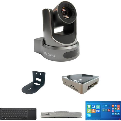 PTZOptics TEAMPLUS Video Conference Calendar Edition Kit with 20x-USB Gen2 PTZ Camera, PC, & Microphone