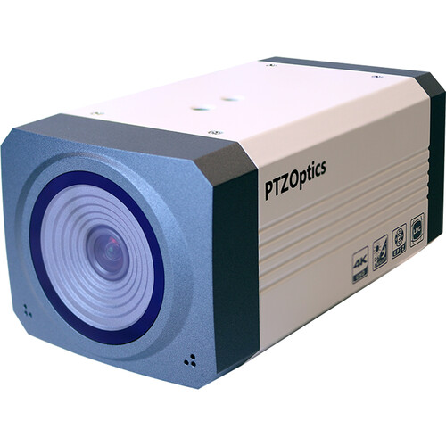 PTZOptics EPTZ-ZCAM-G2 3G-SDI/IP Broadcast Box Camera with Power Supply
