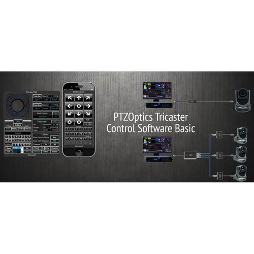 PTZOptics Tricaster Camera Control Software (Basic)