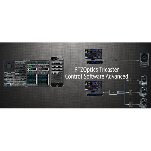 PTZOptics Tricaster Camera Control Software (Advanced)