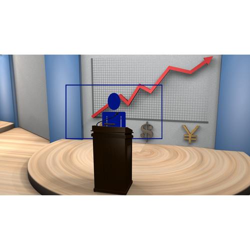 PTZOptics Banking/Finance Virtual Set Pack